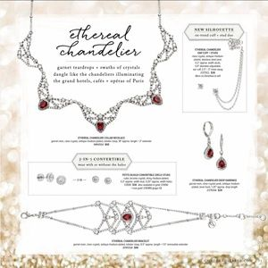 Chloe + Isabel Jewelry - Chloe + Isabel Etherial Chandelier Four-Piece Set